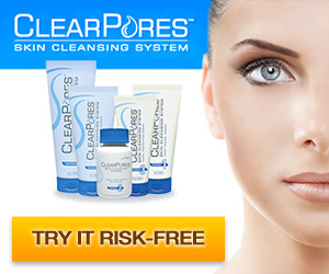 ClearPores is a total skin cleansing system